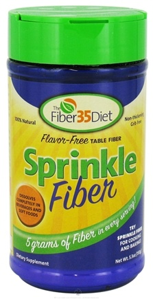 DROPPED: Fiber 35 Diet - Sprinkle Fiber - 5.3 oz. CLEARANCE PRICED