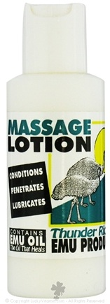 DROPPED: Thunder Ridge Emu Products - Massage Lotion - 2 oz. CLEARANCE PRICED