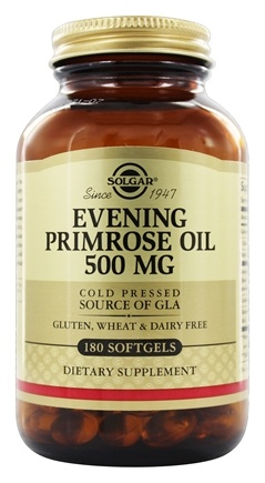 Solgar - Evening Primrose Oil 500 mg. - 180 Softgels