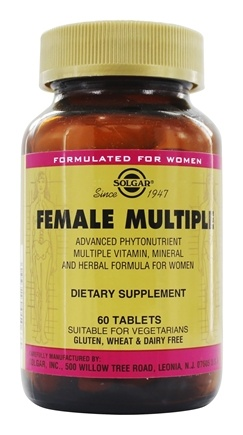 Solgar - Female Multiple - 60 Tablets