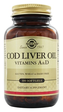 Solgar - Norwegian Cod Liver Oil - 100 Softgels