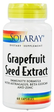 DROPPED: Solaray - Grapefruit Seed Extract - 60 Capsules