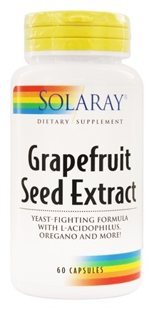 Solaray - Grapefruit Seed Extract - 60 Capsules