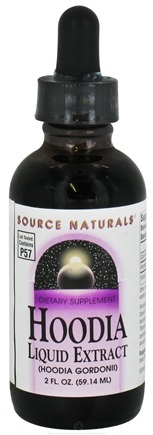 DROPPED: Source Naturals - Hoodia Liquid Extract - 2 oz. CLEARANCE PRICED