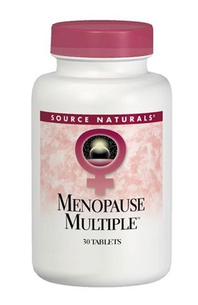 DROPPED: Source Naturals - Menopause Multiple (Eternal Woman) - 60 Tablets