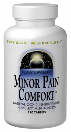 DROPPED: Source Naturals - Minor Pain Comfort - 60 Tablets
