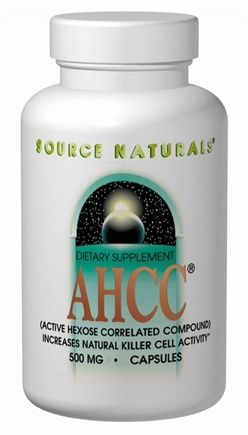 DROPPED: Source Naturals - AHCC 750 mg. - 30 Capsules