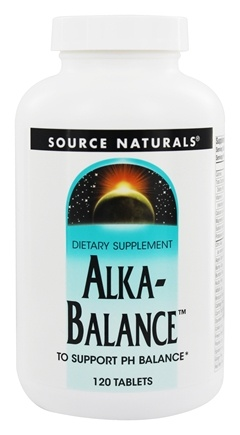 Source Naturals - Alka-Balance - 120 Tablets