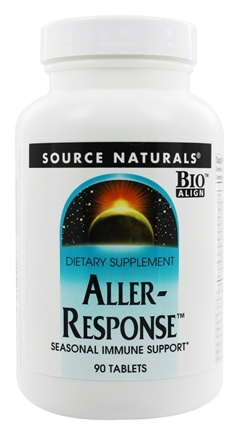 Source Naturals - Aller-Response - 90 Tablets