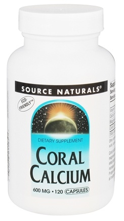 Source Naturals - Coral Calcium 600 mg. - 120 Capsules