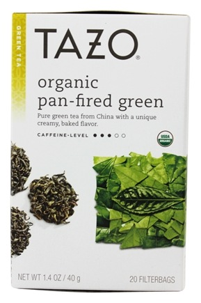 Tazo - Organic Pan-Fired Green Tea - 20 Tea Bags (formerly Envy)