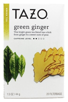 Tazo - Green Tea Green Ginger - 20 Tea Bags