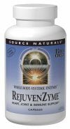 DROPPED: Source Naturals - RejuvenZyme - 60 Capsules CLEARANCE PRICED