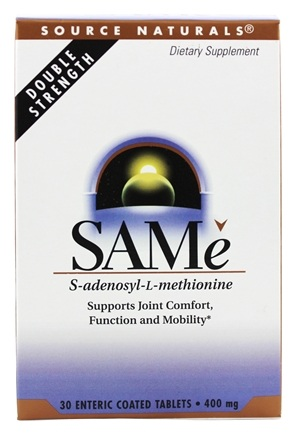 Source Naturals - SAMe 400 mg. - 30 Tablets