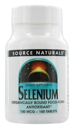 Source Naturals - Selenium 100 mcg. - 100 Tablets