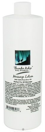 DROPPED: Thunder Ridge Emu Products - Massage Lotion - 16 oz. CLEARANCE PRICED