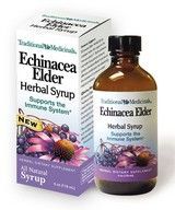 DROPPED: Traditional Medicinals - Echinacea Elder Herbal Syrup SPECIALLY PRICED - 4 oz.