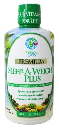Tropical Oasis - Sleep-A-Weigh Plus - 32 oz.