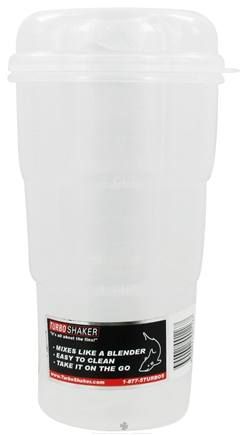 DROPPED: Turbo Shaker - Clear Shaker with Clear Lid - 24 oz. CLEARANCE PRICED
