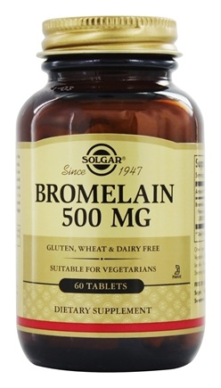 Solgar - Bromelain 500 mg. - 60 Tablets