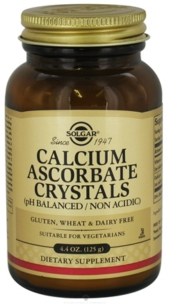 DROPPED: Solgar - Calcium Ascorbate Crystals - 4.4 oz.