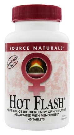 Source Naturals - Hot Flash Eternal Woman - 45 Tablets