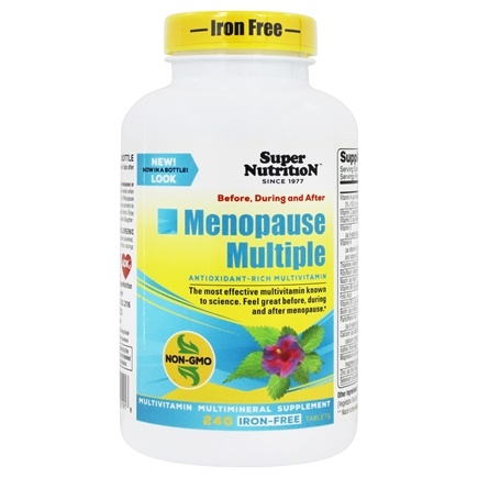 Super Nutrition - Menopause Multiple Iron Free - 60 Packet(s)