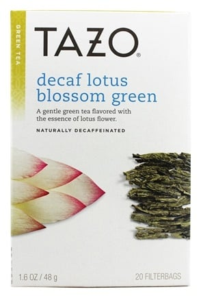 Tazo - Green Tea Decaffeinated Lotus Blossom - 20 Tea Bags