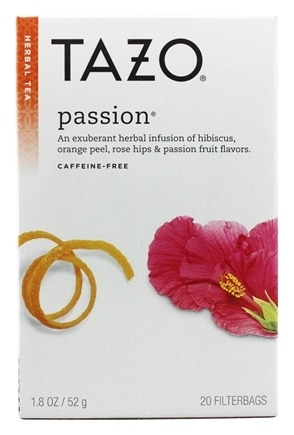 Tazo - Herbal Tea Caffeine Free Passion - 20 Tea Bags
