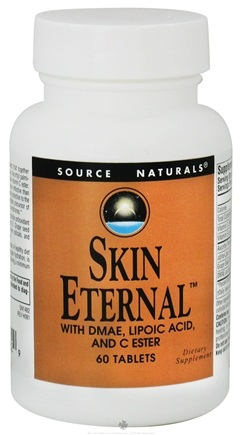DROPPED: Source Naturals - Skin Eternal With DMAE Lipoic Acid and C Ester - 60 Tablets CLEARANCE PRICED