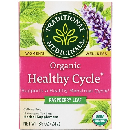 Traditional Medicinals - Female Toner Tea - Supports Female Systems - 16 Tea Bags