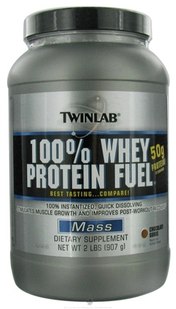 DROPPED: Twinlab - 100% Whey Protein Fuel Chocolate Surge - 2 lbs.