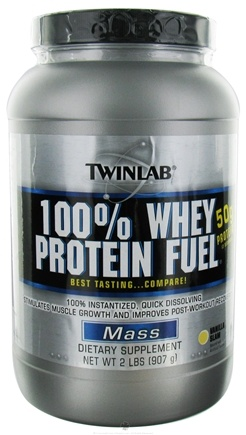 DROPPED: Twinlab - 100% Whey Protein Fuel Vanilla Slam - 2 lbs.