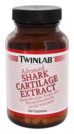 DROPPED: Twinlab - Advanced Shark Cartilage 275 mg. - 100 Capsules CLEARANCE PRICED