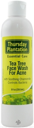 DROPPED: Thursday Plantation - Tea Tree Daily Face Wash for Acne - 8 oz. CLEARANCE PRICED
