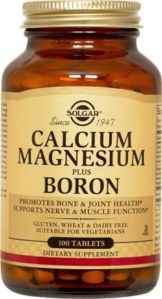 DROPPED: Solgar - Calcium Magnesium Boron - 100 Tablets CLEARANCE PRICED
