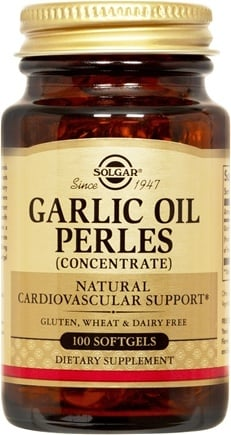 DROPPED: Solgar - Garlic Oil Perles - 100 Softgels CLEARANCE PRICED