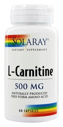 Solaray - L-Carnitine 500 mg. - 60 Capsules