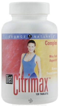 DROPPED: Source Naturals - Diet CitriMax Complex - 120 Tablets