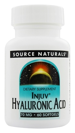 Source Naturals - Injuv Hyaluronic Acid 70 mg. - 60 Softgels