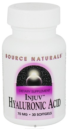 DROPPED: Source Naturals - Injuv Hyaluronic Acid 70 mg. - 30 Softgels CLEARANCE PRICED