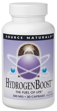 DROPPED: Source Naturals - HydrogenBoost 500 mg. - 30 Capsules