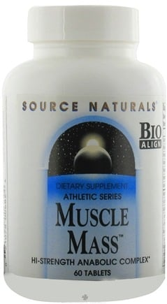 DROPPED: Source Naturals - Muscle Mass Anabolic Complex - 60 Tablets