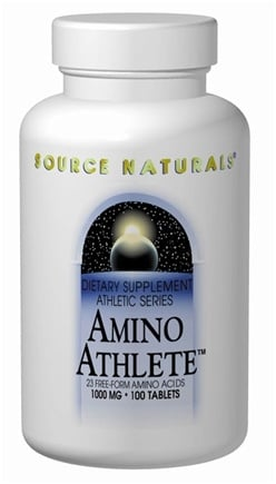 DROPPED: Source Naturals - Amino Athlete 1000 mg. - 100 Tablets