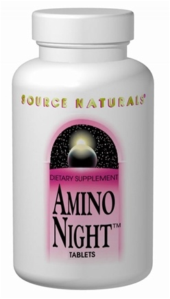 DROPPED: Source Naturals - Amino Night - 60 Capsules