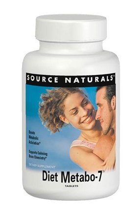 DROPPED: Source Naturals - Diet Metabo-7 - 45 Tablets