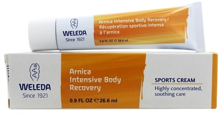 Weleda - Arnica Intensive Body Recovery Sports Cream - 0.9 oz.