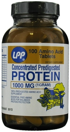 Twinlab - LPP Predigested Protein Tablets 1000 mg. - 100 Tablets LUCKY PRICE