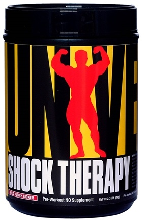 DROPPED: Universal Nutrition - Shock Therapy Pre Workout NO Volumizer Wild Punch Kicker - 2.22 lbs. CLEARANCE PRICED