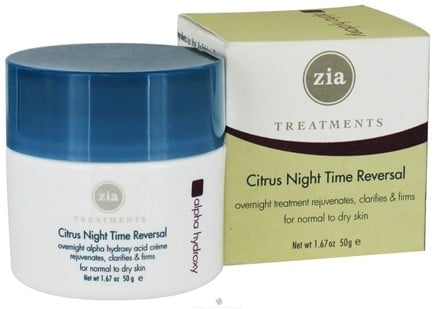DROPPED: Zia - Treatments Citrus Night Time Reversal - 1.67 oz. CLEARANCE PRICED